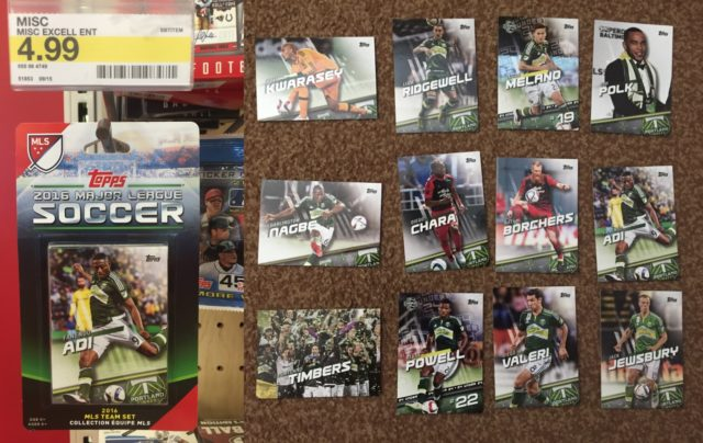 MLS Topps Trading Cards
